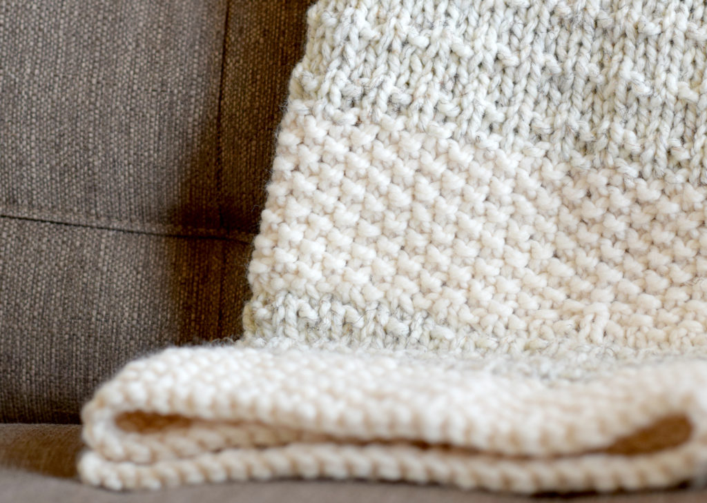 Knit Blanket Pattern Easy : Easy Heirloom Knit Blanket Pattern   Mama In A Stitch