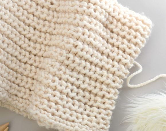 How to Knit Half Fisherman Rib Stitch