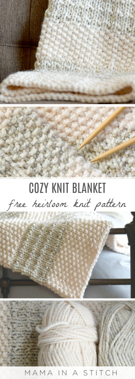 Easy heirloom knit blanket pattern mama in a stitch and dont forget that this is the first of several patterns that i hope to share with you in the coming weeks from my fall collection how fun bankloansurffo Image collections