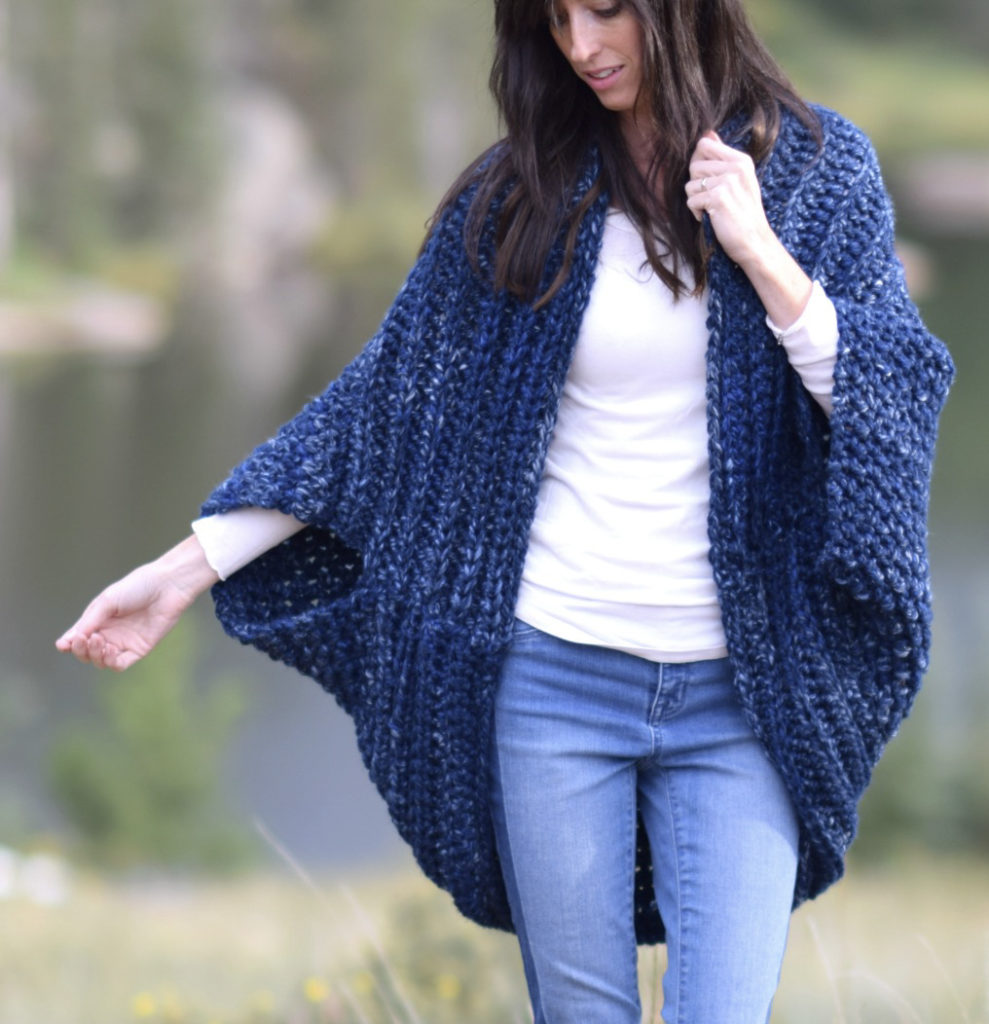 Cozy Blanket Cardigan Mama In A Stitch