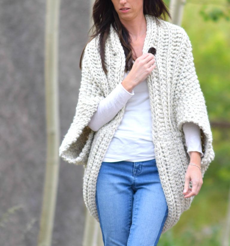 Cozy Blanket Sweater | Fashionable Winter Clothing You Need To Sew For Your Family | types of winter clothes