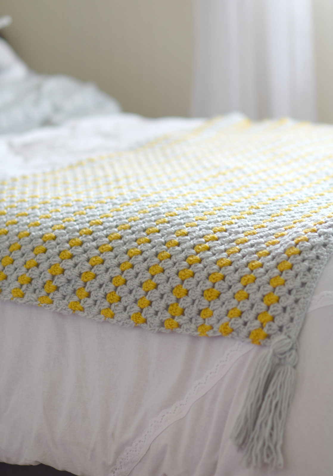 Yellow Brick Road Blanket Mama In A Stitch