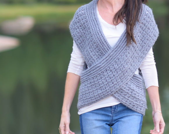 Willow Wrap Over Shrug