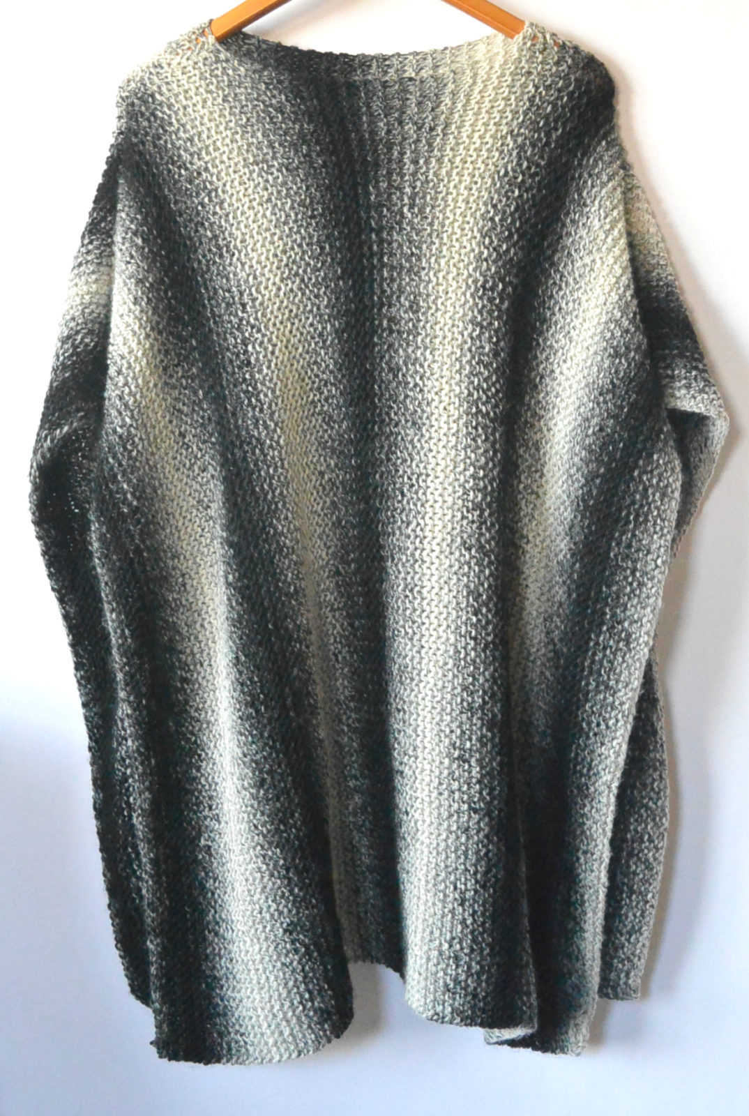 Aspen relaxed knit poncho pattern mama in a stitch this beginner friendly poncho has a beautiful drape and classic color combo making it a perfect piece to add style and comfort to any cold weather outfit bankloansurffo Gallery
