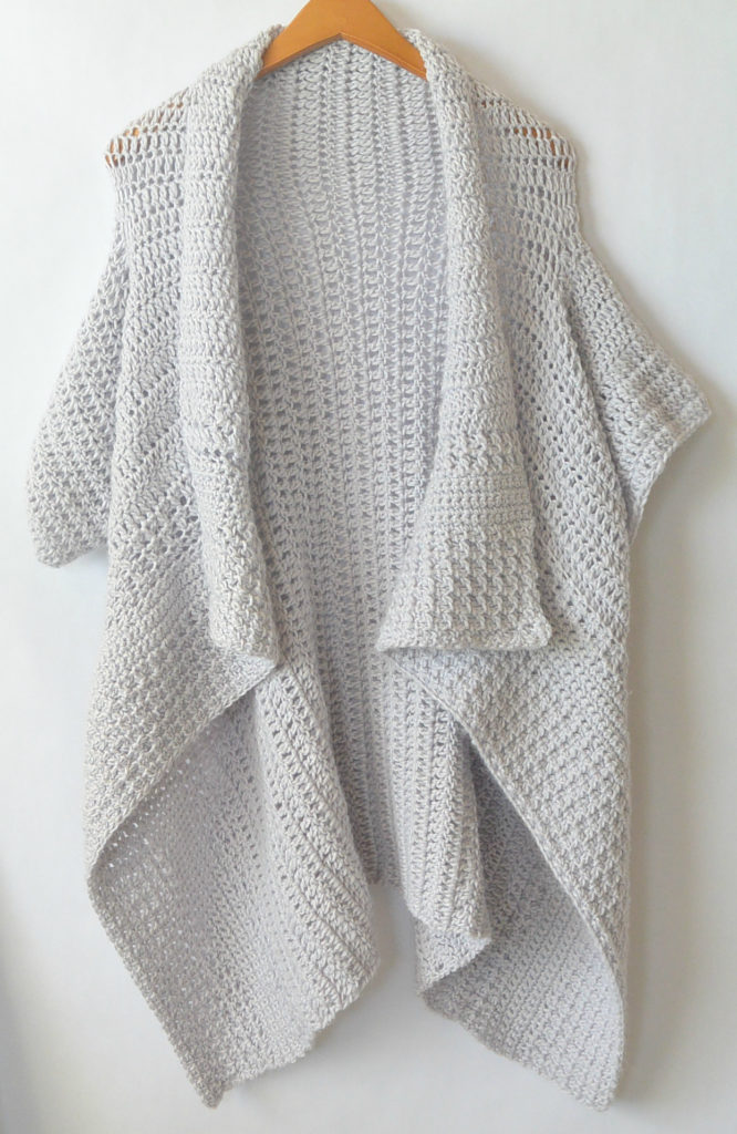 Cascading Kimono Cardigan Crochet Pattern Mama In A Stitch