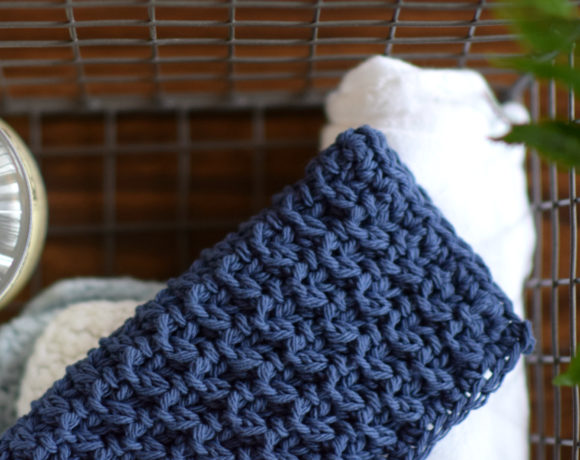 How To Crochet Textured Stitch & Hostess Washcloth