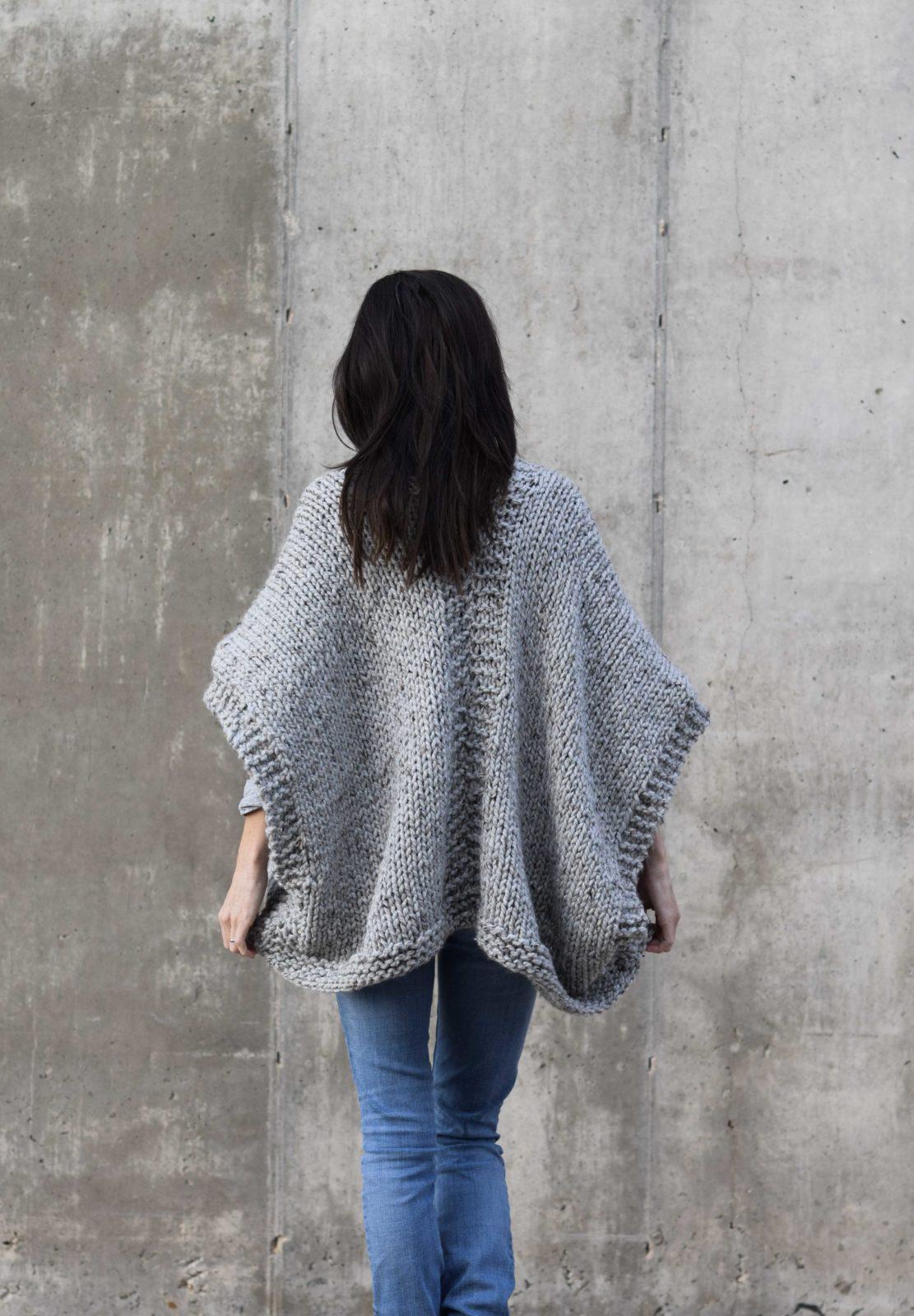 Telluride Easy Knit Kimono Pattern – Mama In A Stitch