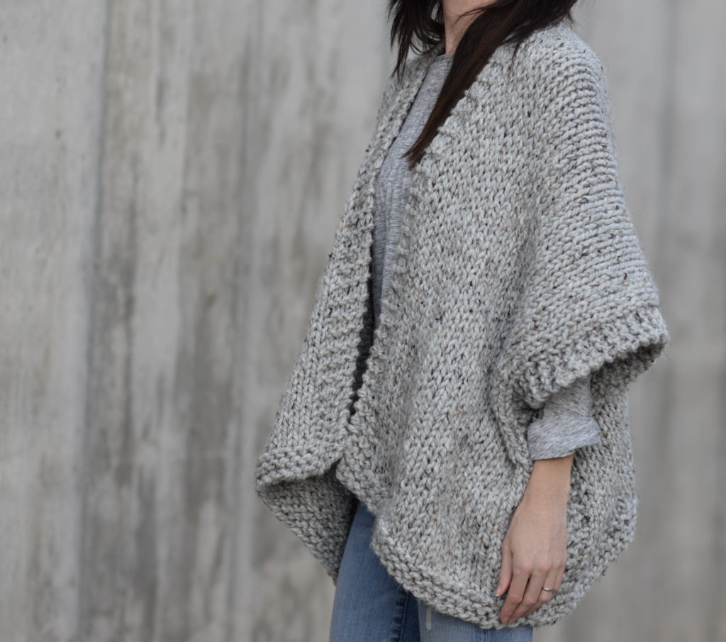 Videos easy for free cardigan knit beginners