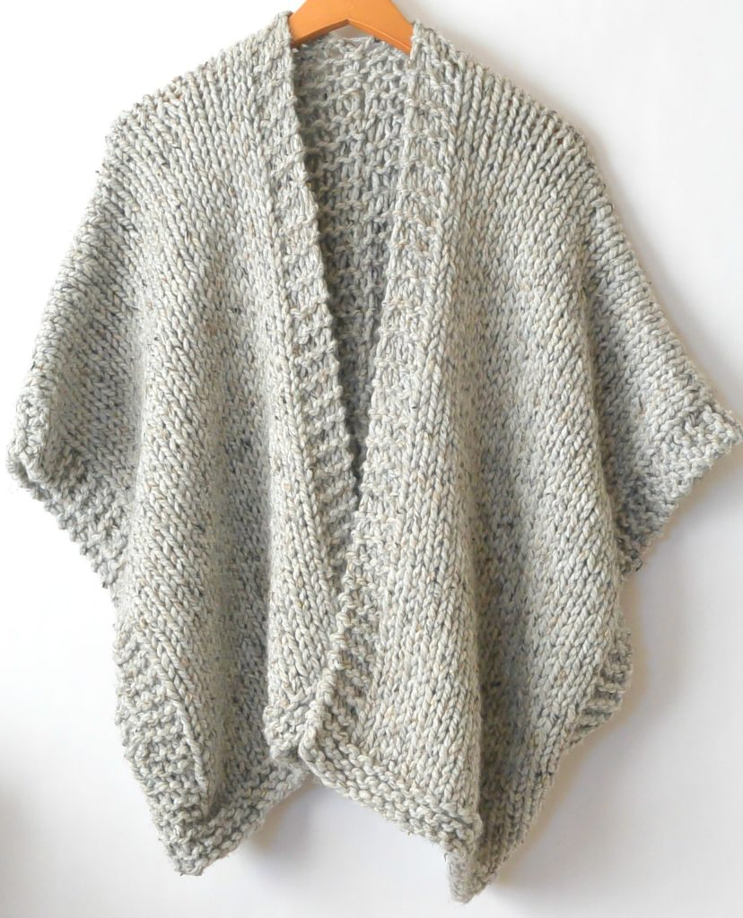 Knitting Cardigan Design : Telluride easy knit kimono pattern mama in a stitch