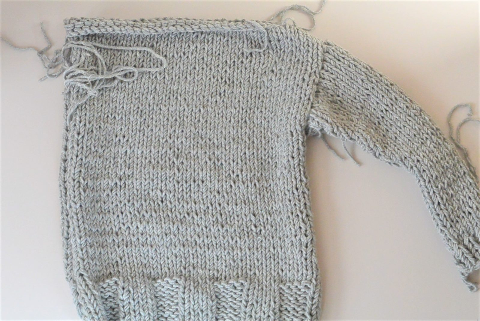winters chunky easy knit pullover pattern � mama in a stitch