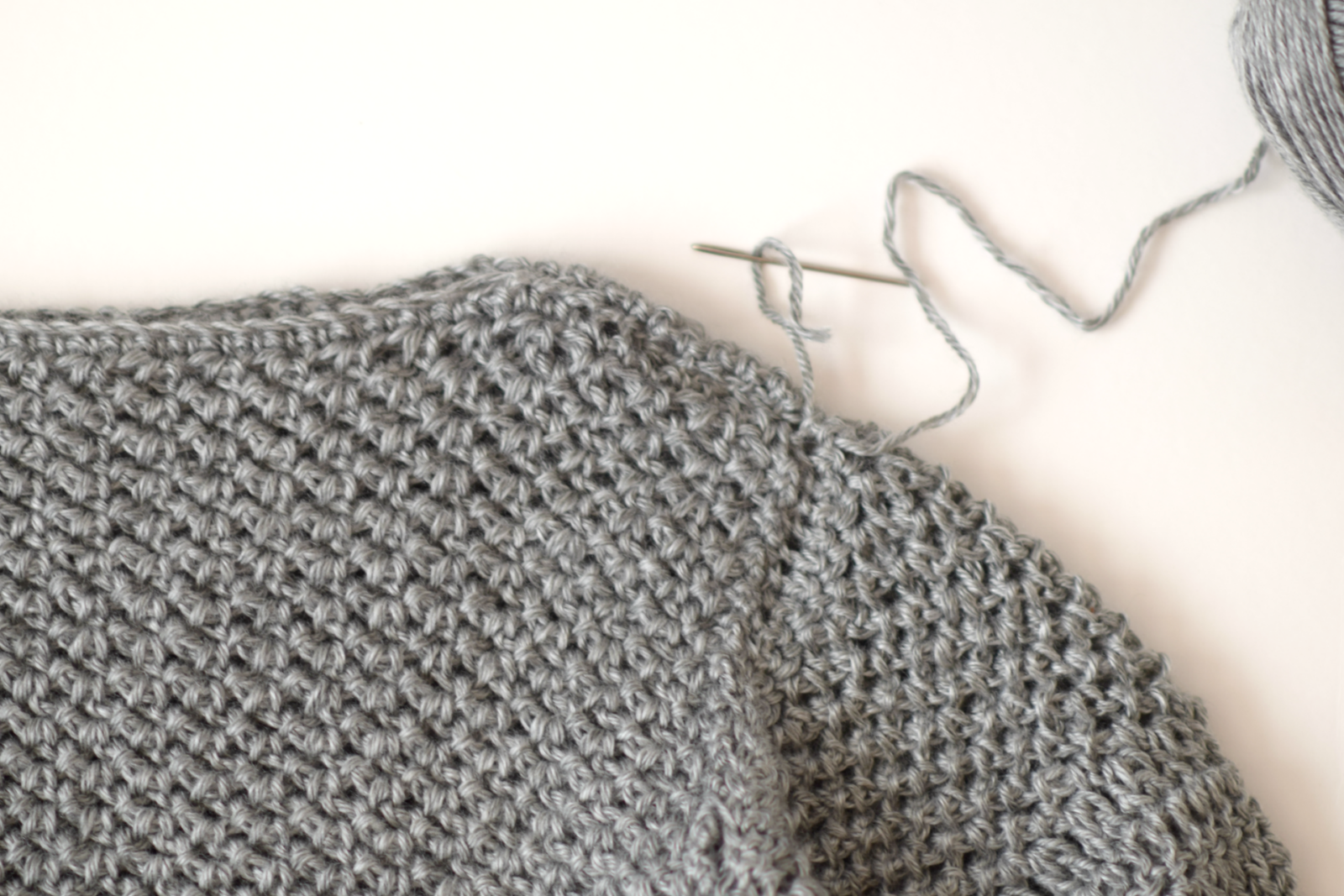 How To Make An Easy Crocheted Sweater (Knit-Like) – Mama In A Stitch