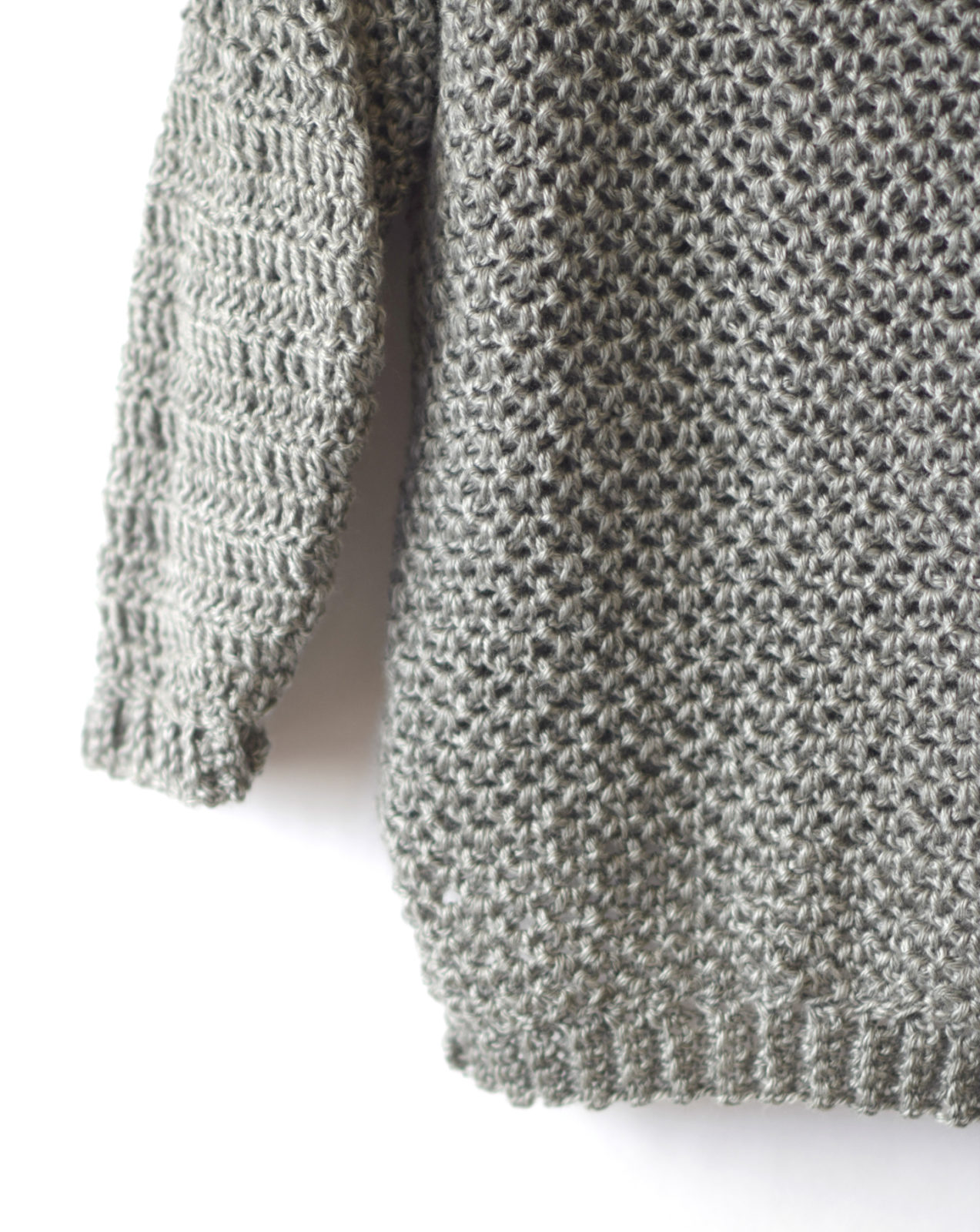 How To Make An Easy Crocheted Sweater Knit Like Mama In A Stitch
