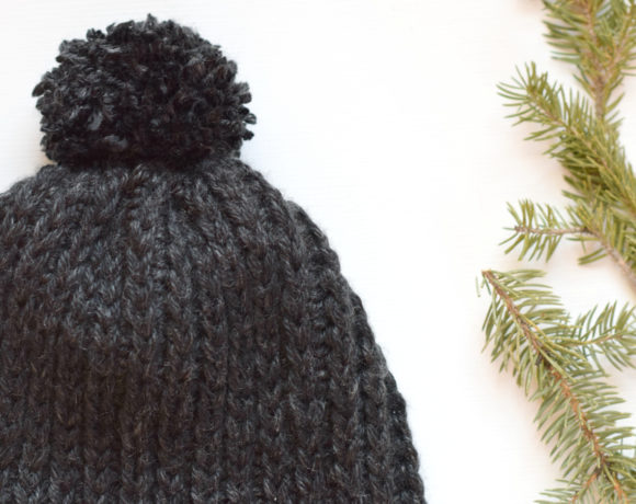 Everyday Ribbed Crochet Hat Pattern
