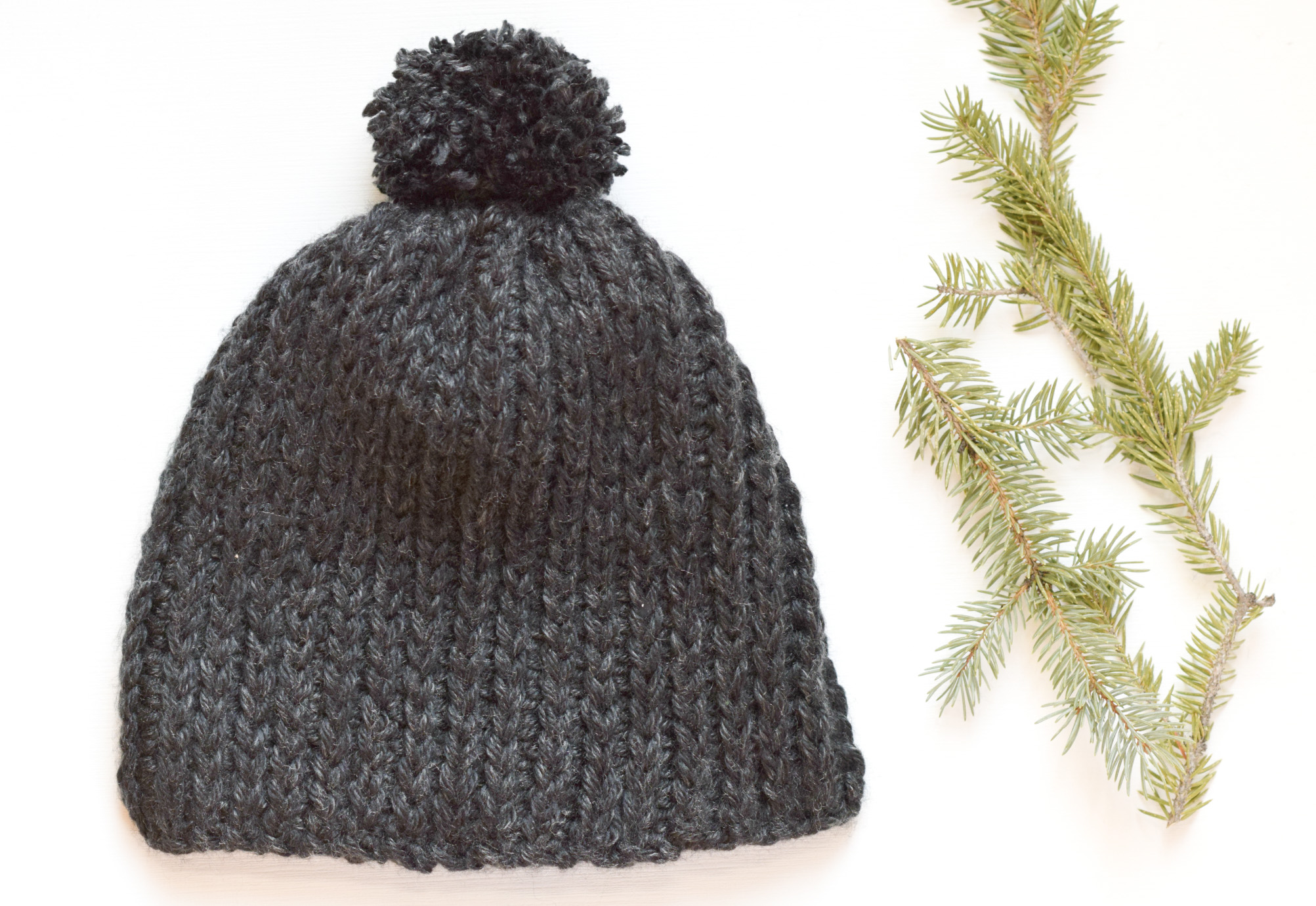 Everyday Ribbed Crochet Hat Pattern Mama In A Stitch