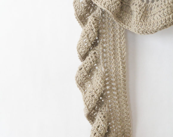 Ruffled Scarf Crochet Pattern Archives Mama In A Stitch