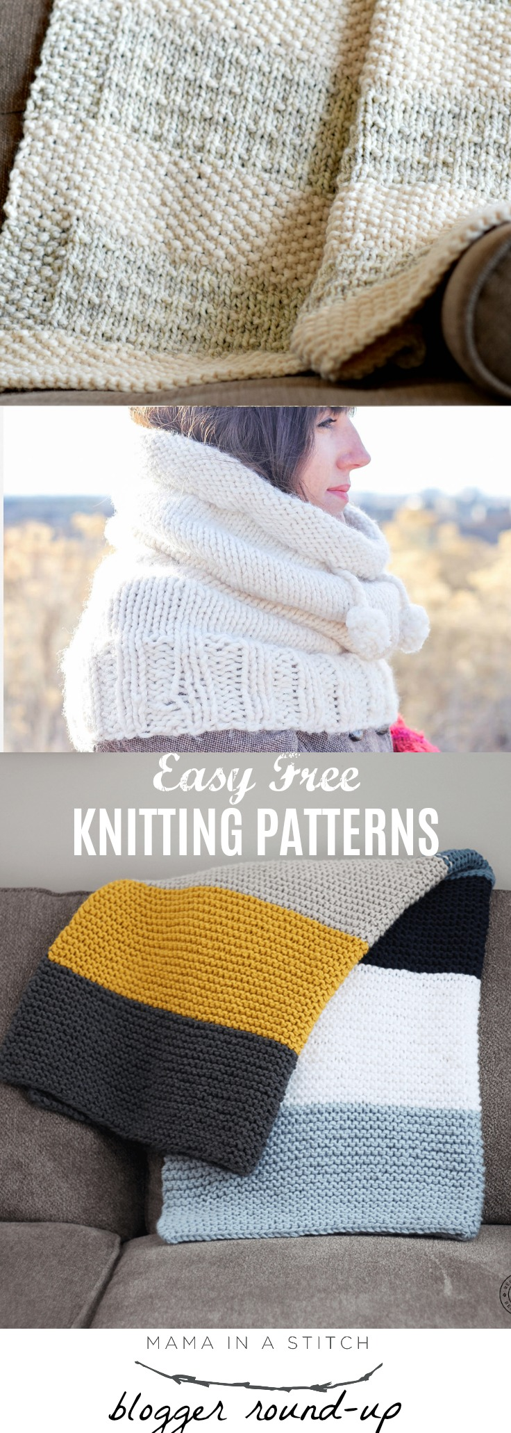 0d7c62ffa Easy Knitting Patterns To Try – Mama In A Stitch
