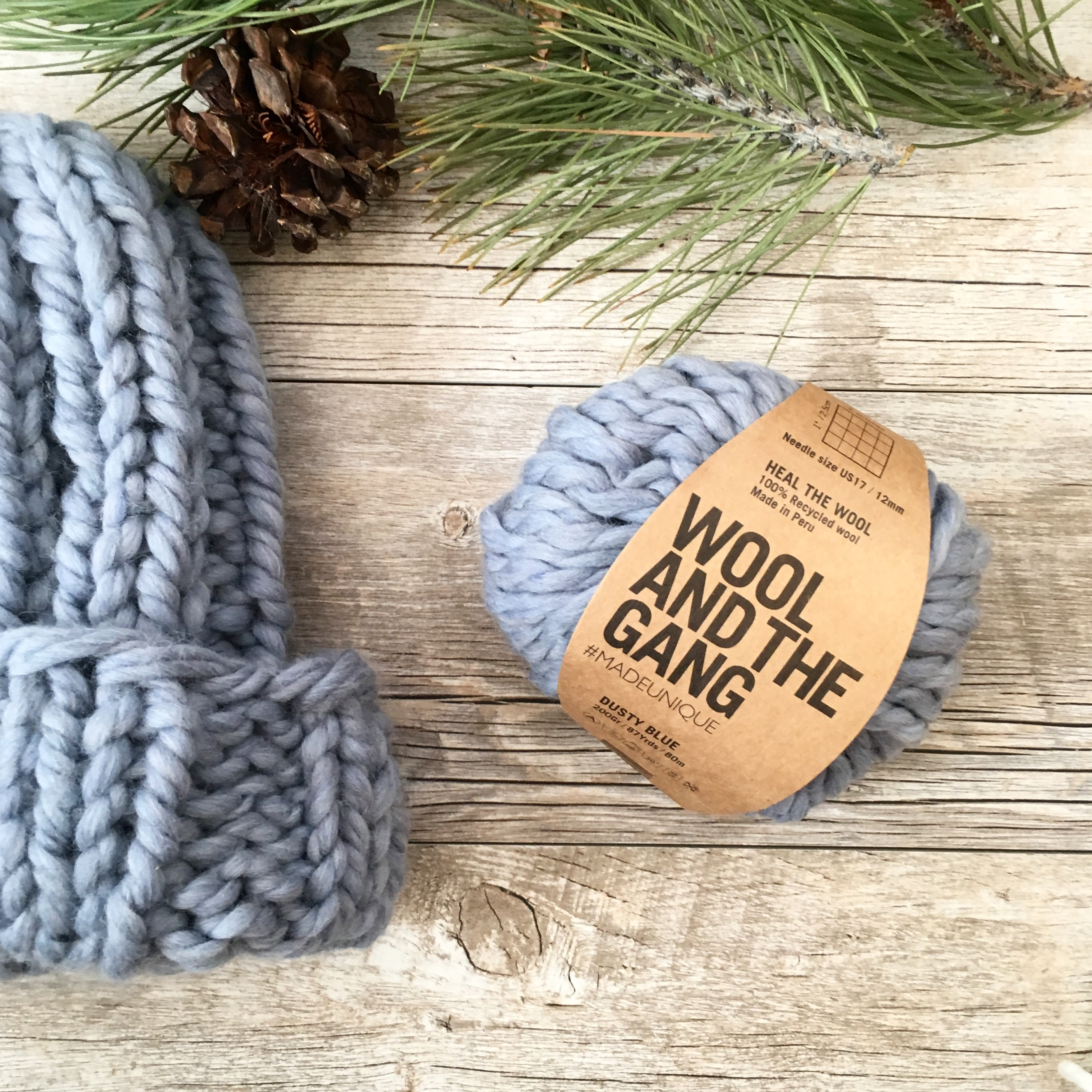 Quick Chunky Knit Hat Pattern – Mama In A Stitch