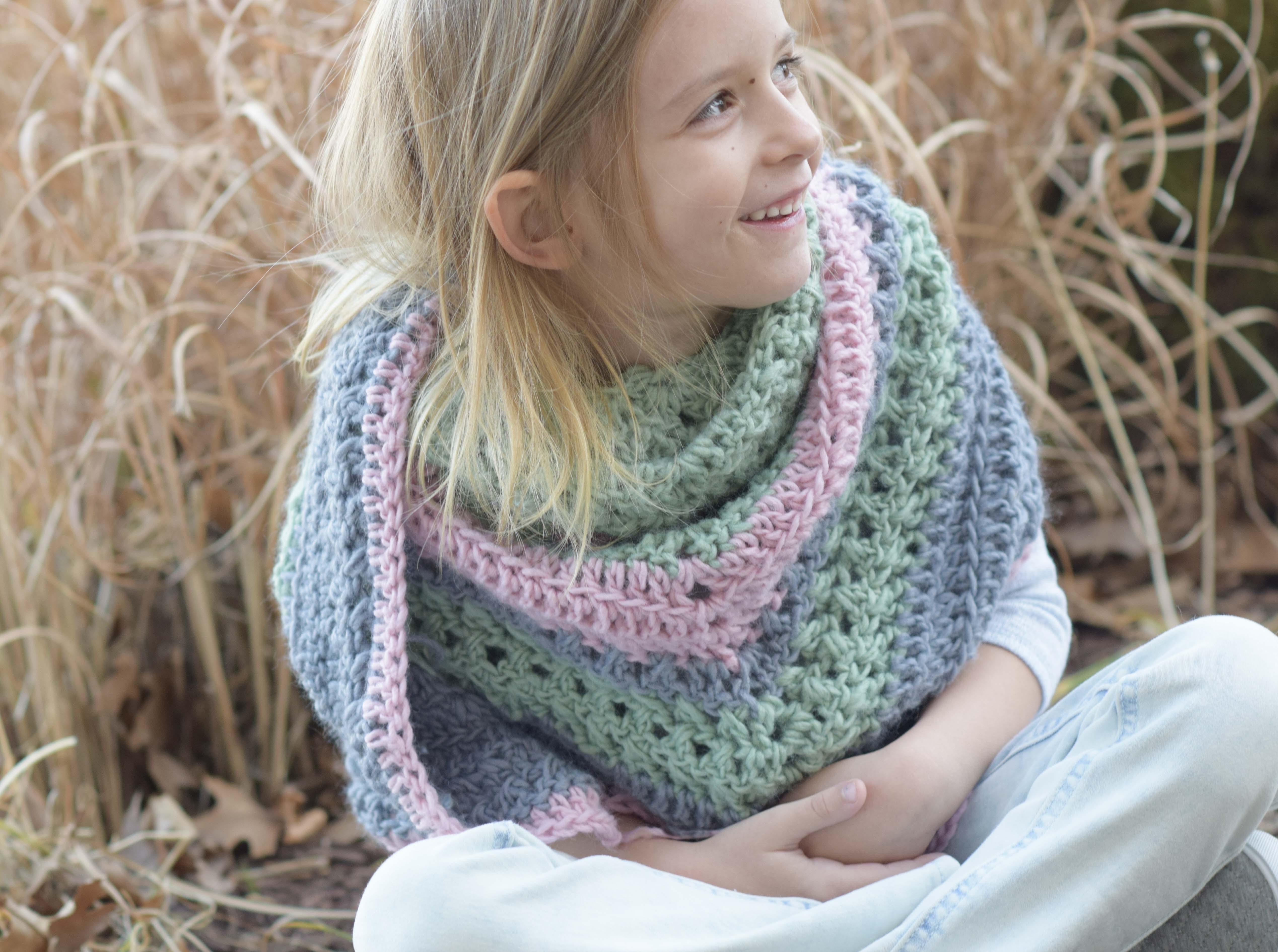 Lil Scarf Crochet Pattern 1
