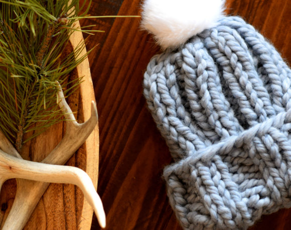 Quick Chunky Knit Hat Pattern