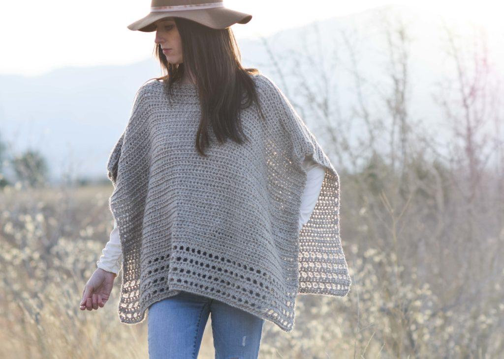 Alpaca Amigurumi Patron Gratis : Light alpaca poncho crochet pattern u mama in a stitch