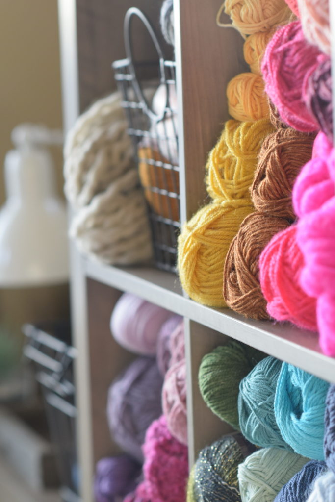 My Yarn Room Makeover – How To Organize