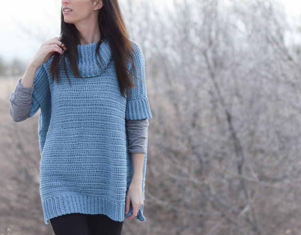 Softest Lounge Around Pullover Crochet Pattern