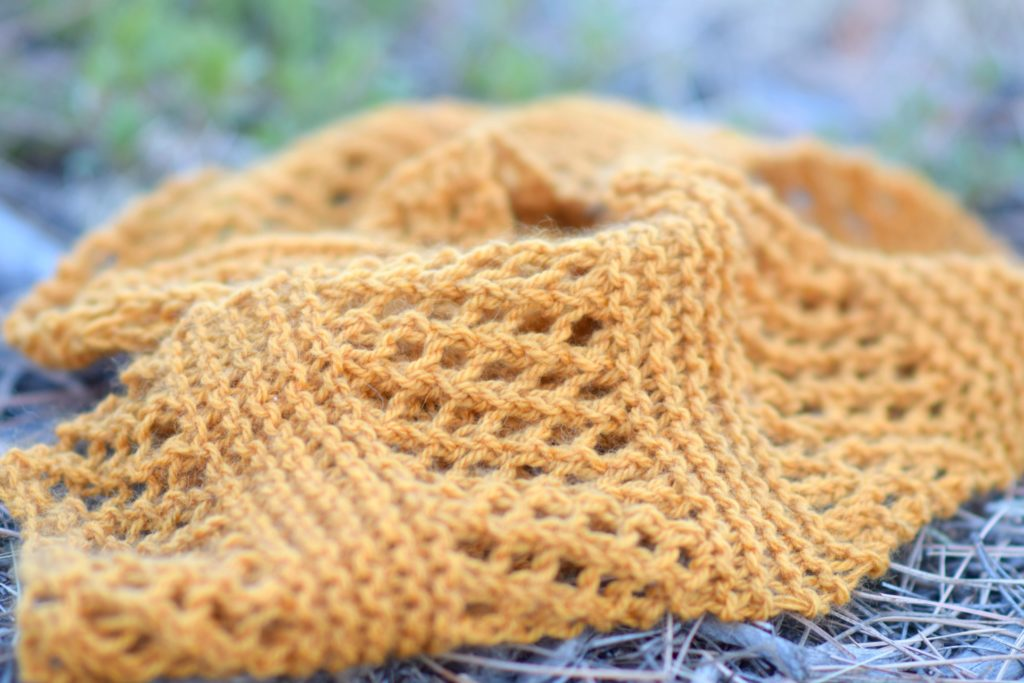Honeycombs Summer Easy Scarf Knitting Pattern – Mama In A Stitch