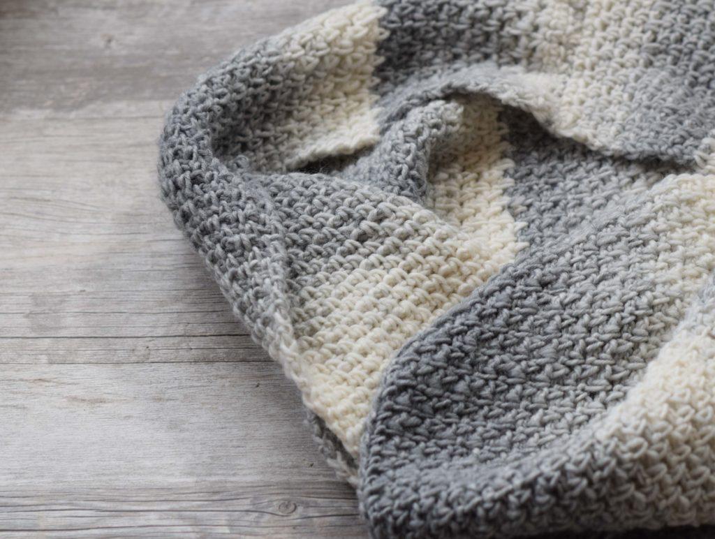 Bonfire Crocheted Scarf Free Pattern