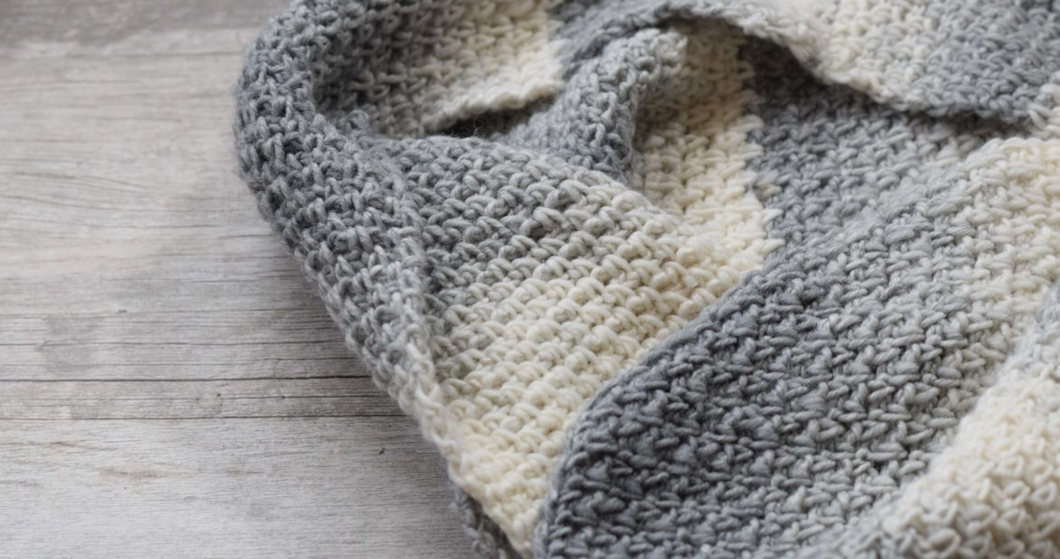 Bonfire Crocheted Scarf Free Pattern – Mama In A Stitch