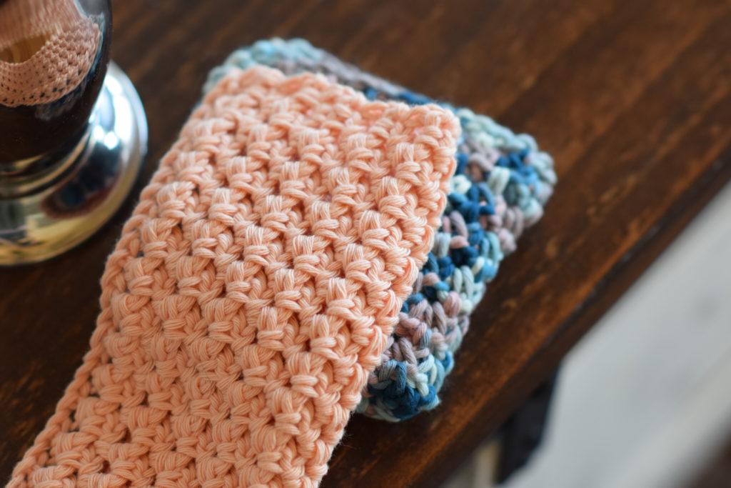 Little Clusters Washcloth Crochet Pattern