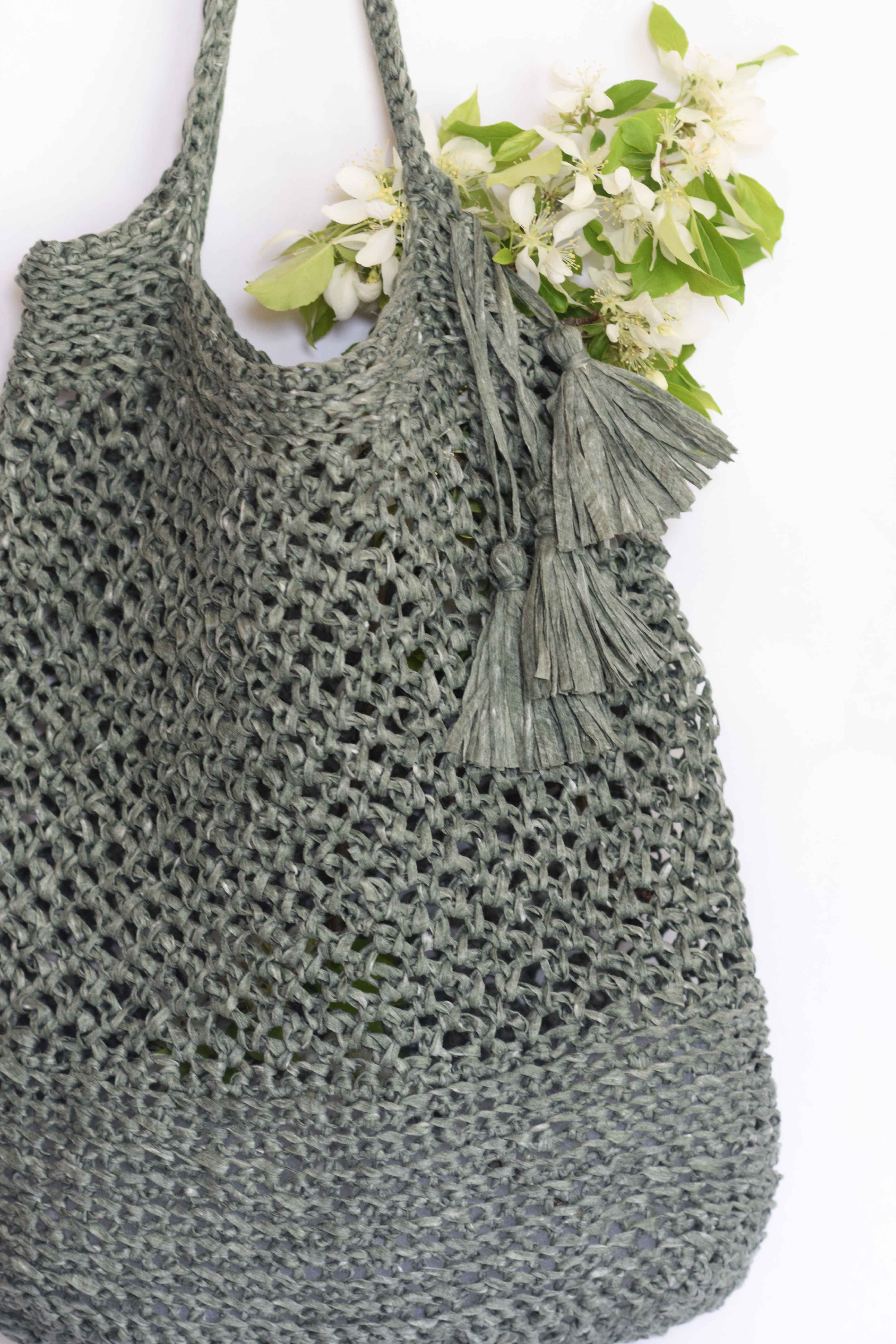 How To Crochet A Market Tote Quot Palmetto Tote Pattern