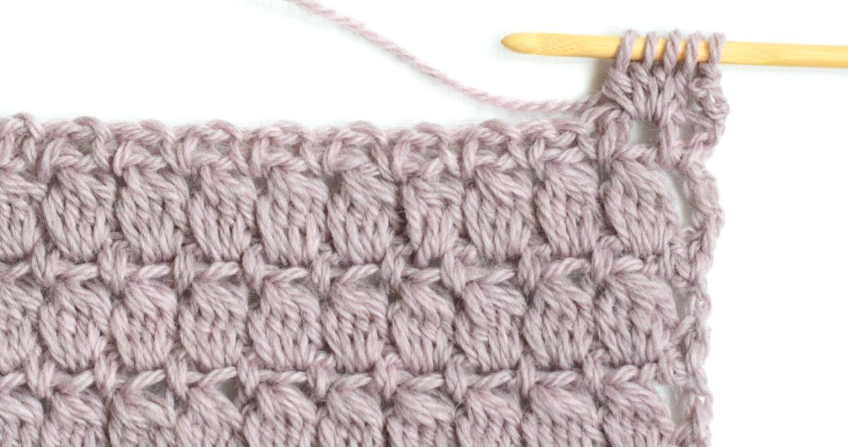 Puff or Bobble Stitch Crochet Tutorial ⋆ Dream a Little Bigger | 643x1220