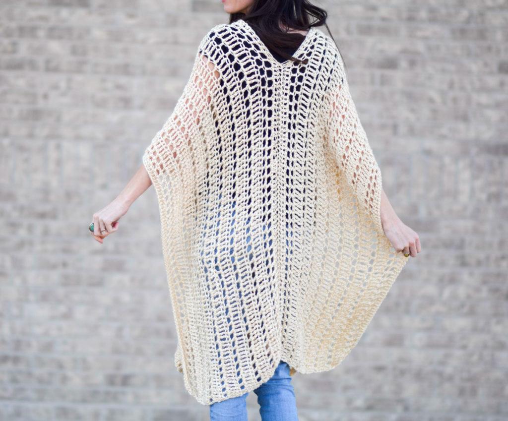 Casablanca Summer Poncho Crochet Pattern