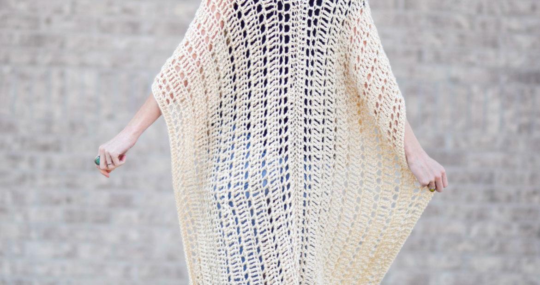 Casablanca Summer Poncho Crochet Pattern Mama In A Stitch