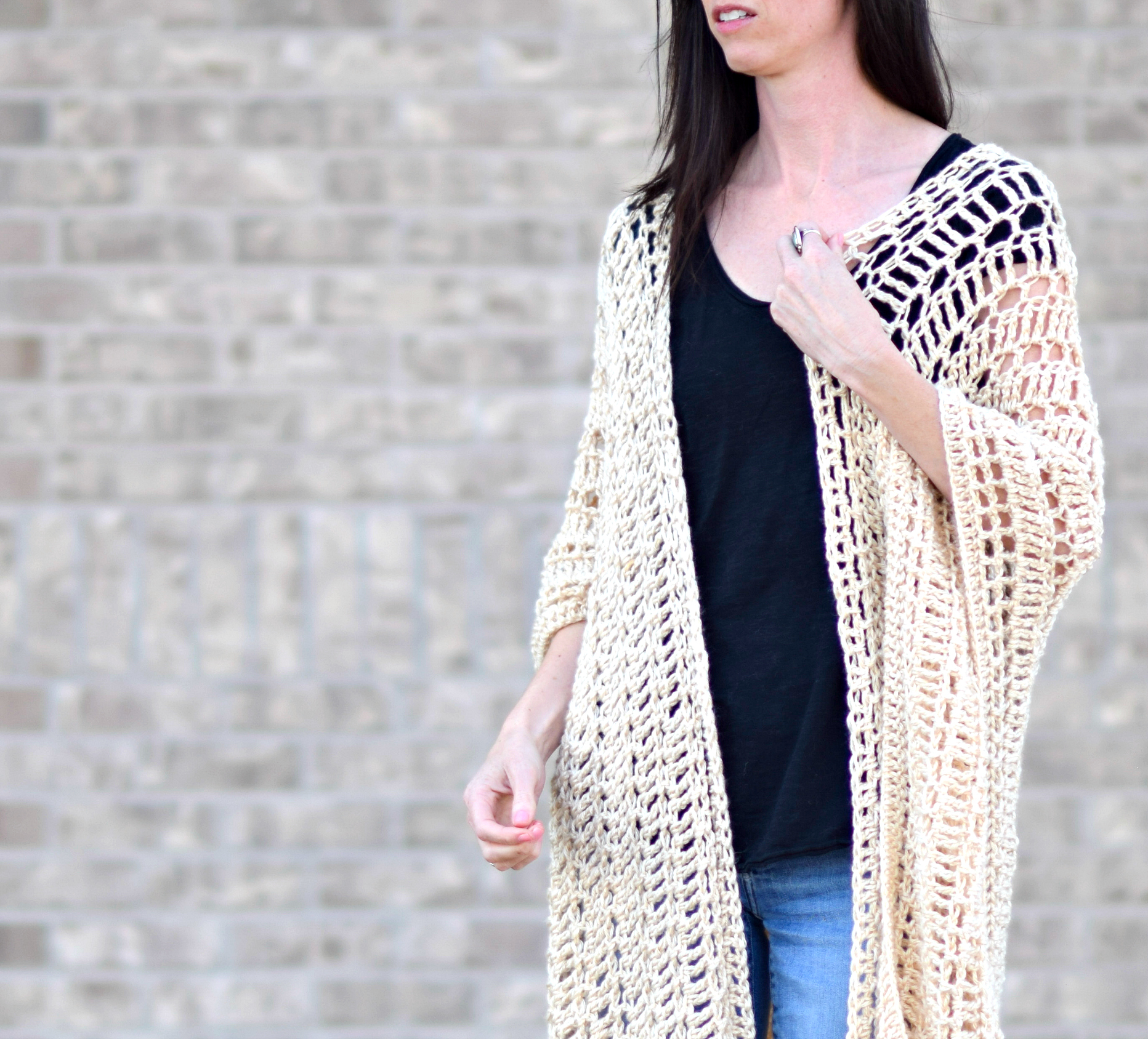 Casablanca Summer Poncho Crochet Pattern – Mama In A Stitch