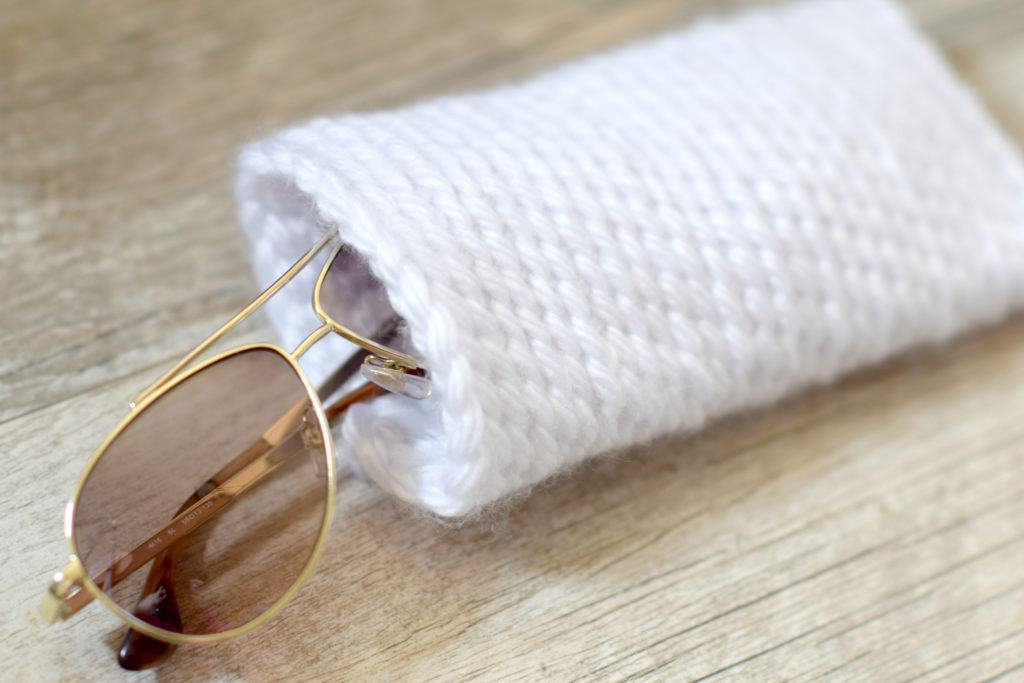 How To Crochet A Sunglasses Case