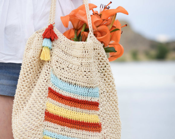 Caribe Big Crocheted Bag Pattern