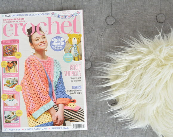 Inside Crochet Magazine Feature