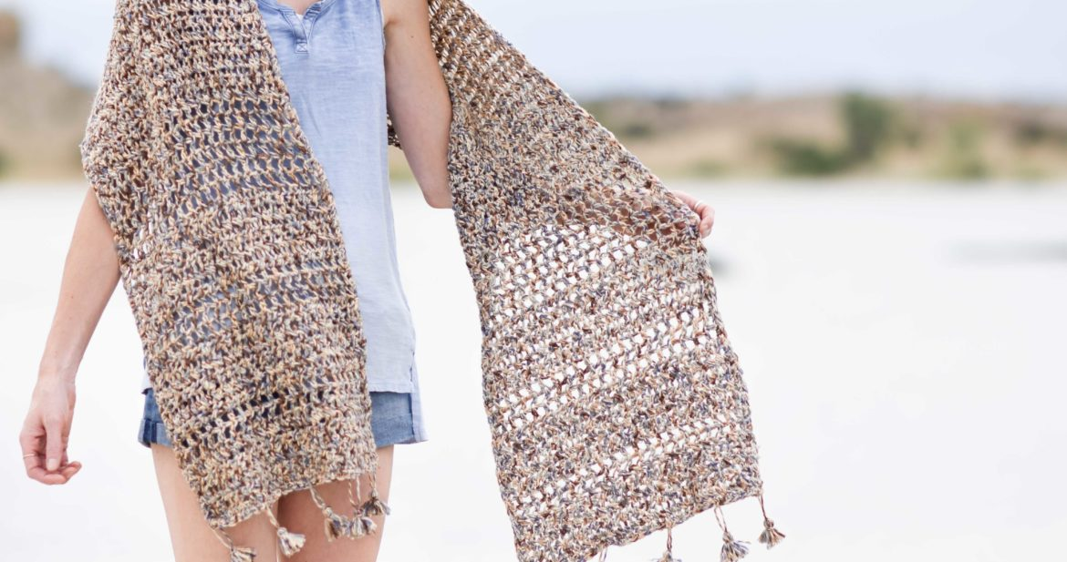 Wanders Wrap Summer Shawl Crochet Pattern Mama In A Stitch