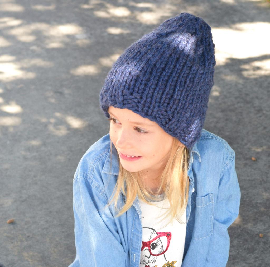 Beginner Chunky Knit Hat Pattern
