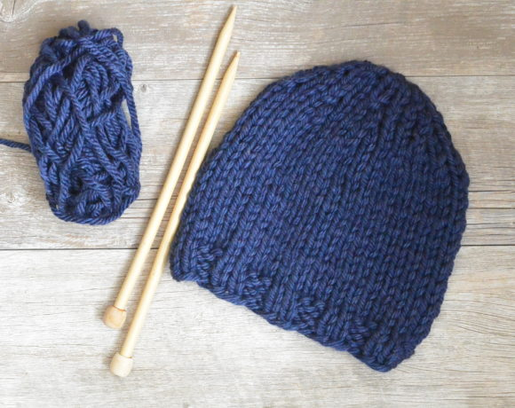 Beginner Knit Hat Pattern Archives Mama In A Stitch