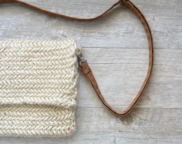 Herringbone Bag Knitting Pattern