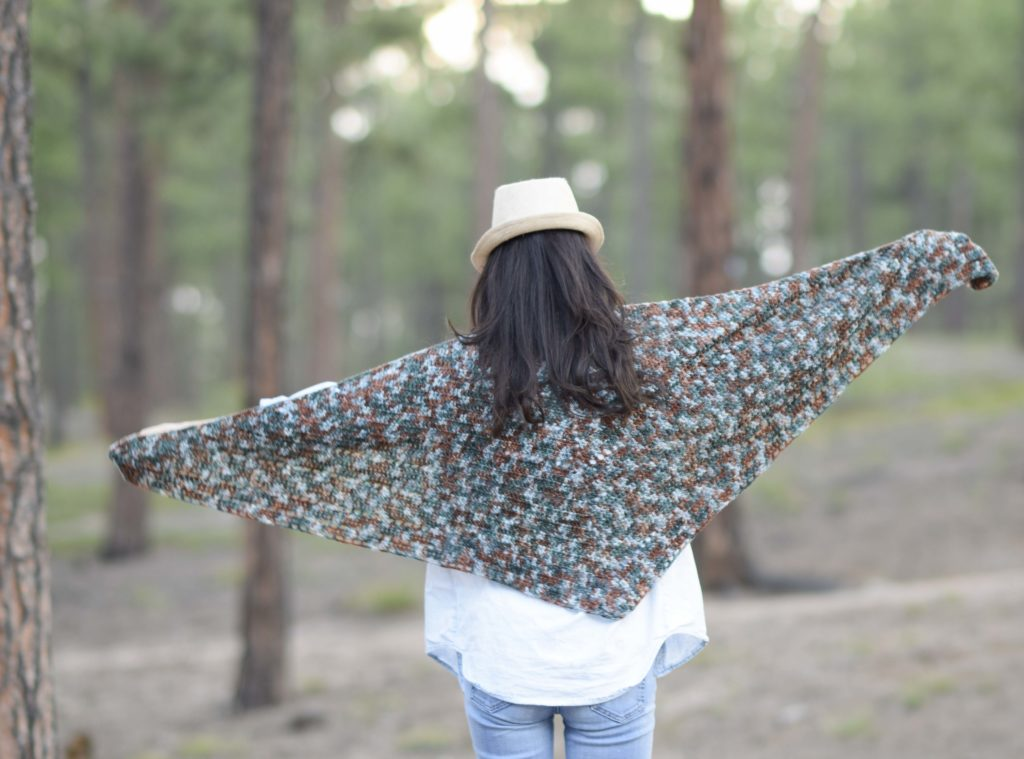 Anya Fall Triangle Scarf Crochet Pattern