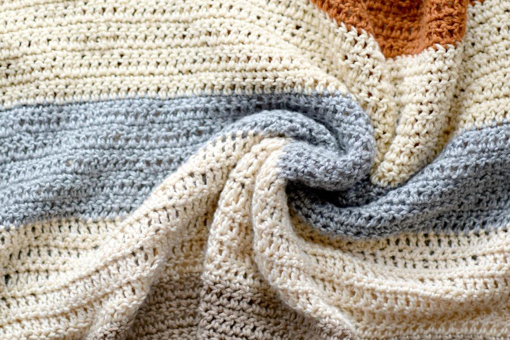 How To Crochet A Beginner Fall Throw Blanket
