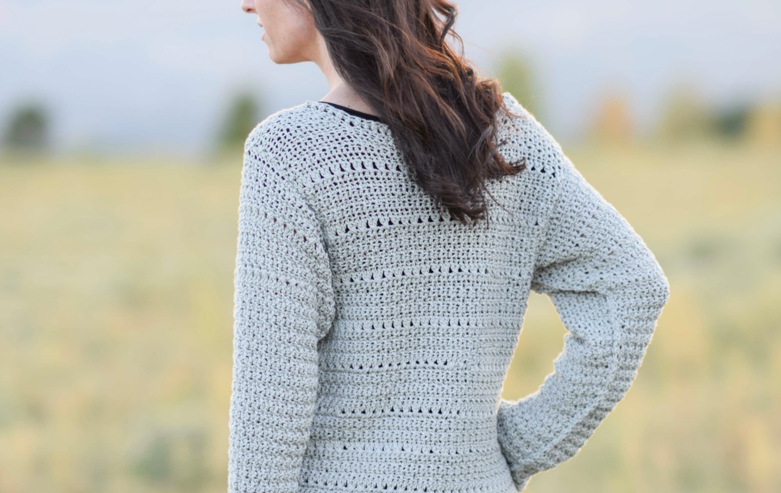 aac07c89e The Lakeside Easy Crocheted Pullover Pattern – Mama In A Stitch