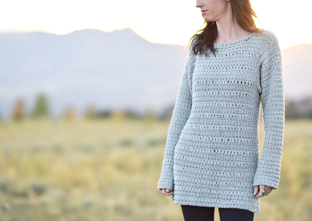 The Lakeside Easy Crocheted Pullover Pattern