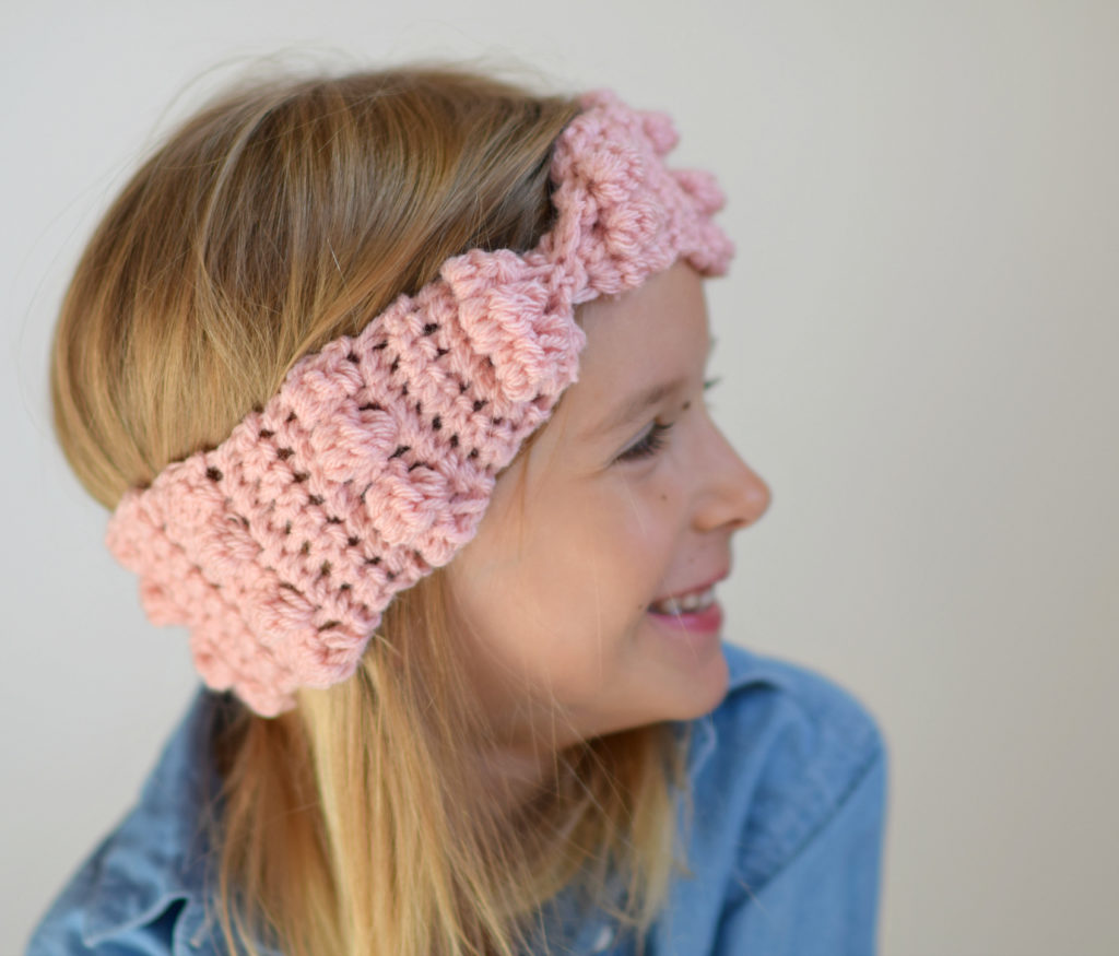 How To Crochet A Bobbly Ear Warmer
