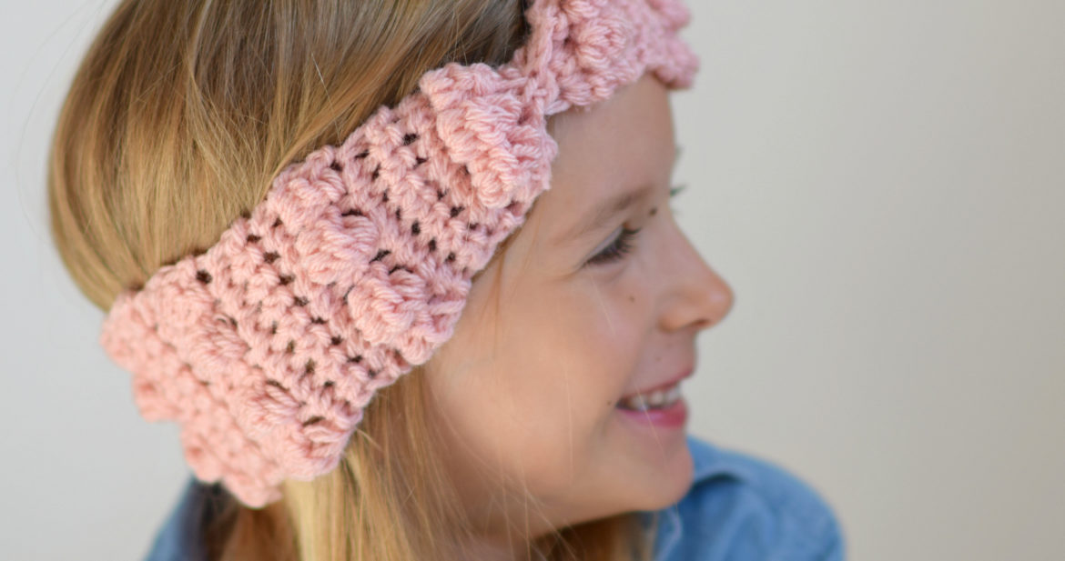 How To Crochet A Bobble Ear Warmer