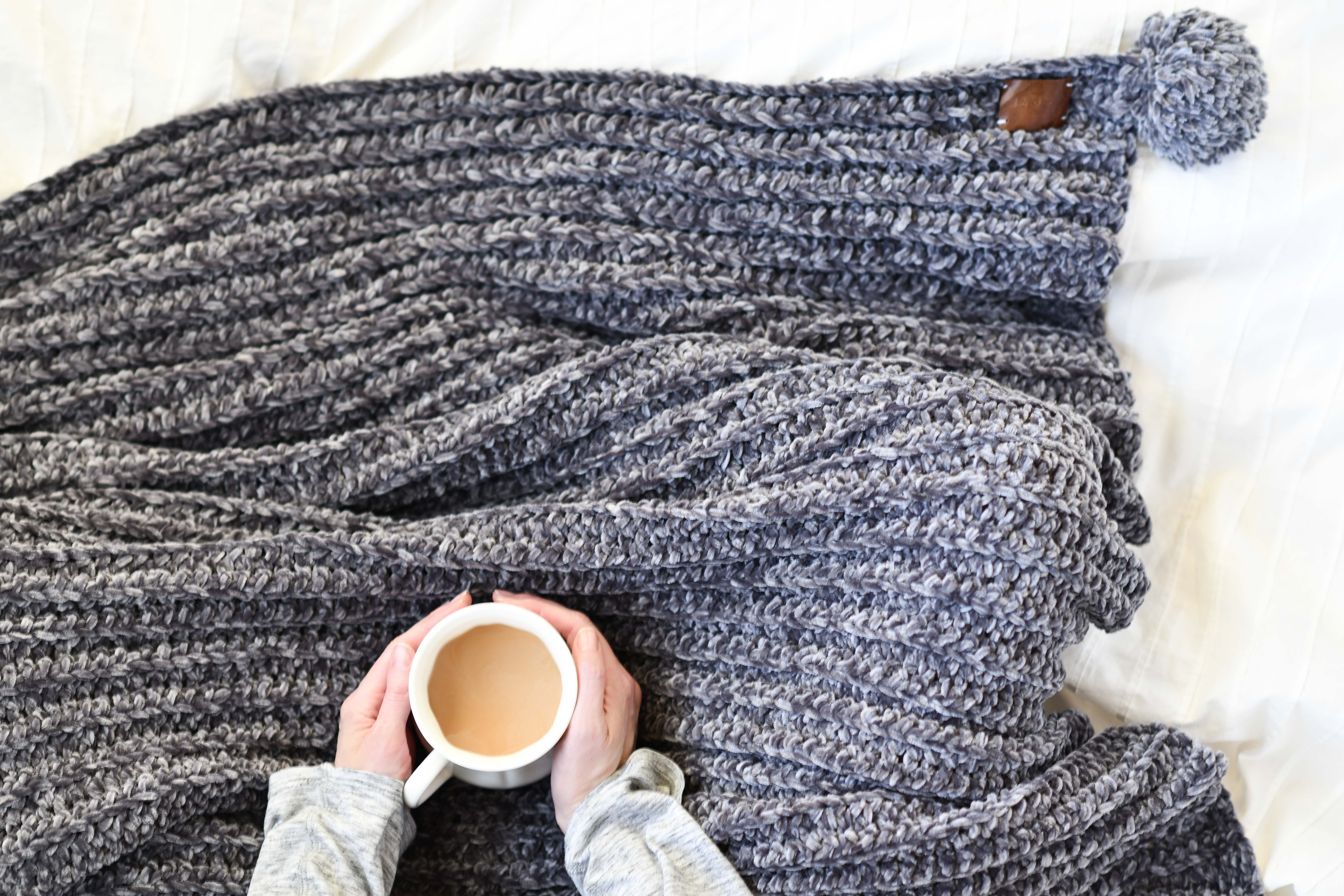Velvet Crocheted Blanket Pattern Vel Luxe Throw Mama In A Stitch