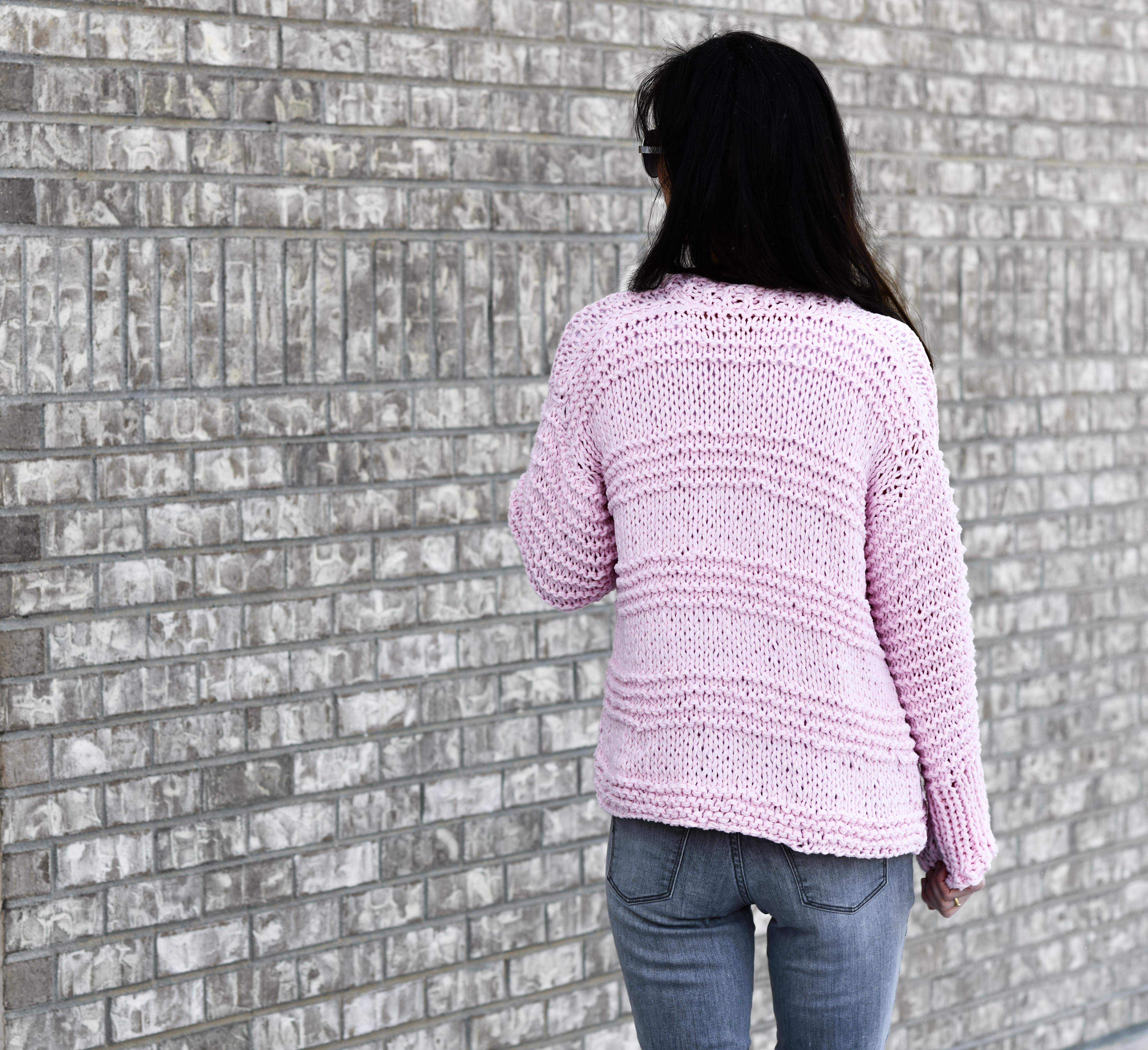 Cotton Candy Easy Knit Cardigan Pattern – Mama In A Stitch